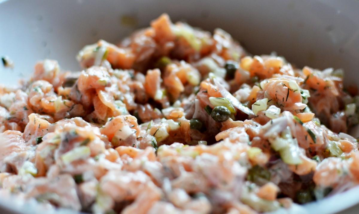 tartare 2 saumons
